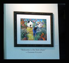 Celestial Seasonings art with quotation