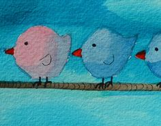 "Check out new work on my @Behance portfolio: ""Birds full of color."" http://be.net/gallery/53676815/Birds-full-of-color"