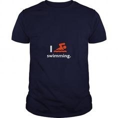 Awesome Swimming Lovers Tee Shirts Gift for you or your family member and your friend:  I love swimming TShirts and Hooodie Tee Shirts T-Shirts