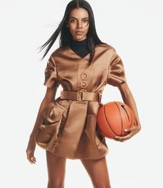 Model and former basketball star Grace Mahary