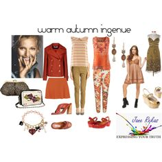 warm autumn ingenue by expressingyourtruth on Polyvore featuring Mode, Betsey Johnson, Altuzarra, STELLA McCARTNEY, Gucci, Joseph, Think!, Miu Miu and CAbi