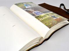 Santa Fe Leather Photo Album With Slip-In Sleeves – Jenni Bick Bookbinding