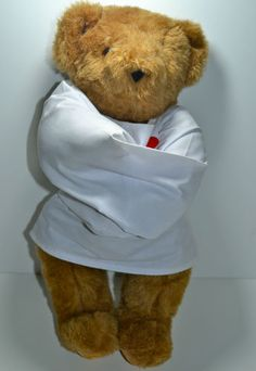 Crazy For You Vermont Teddy Bear Plush Straightjacket Valentine's Gift Rare $275.00