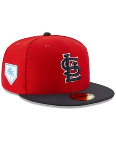 promo code e8e44 6b091 New Era St. Louis Cardinals Spring Training 59FIFTY-fitted Cap - Red Navy