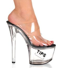 lucite shoes