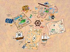 Treasure Map - Sophie Harding