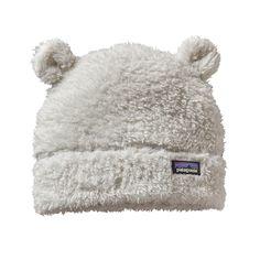 Patagonia Baby Furry Friends Hat | Birch White