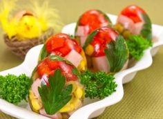 jelly meat eggs