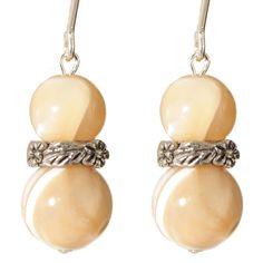 Ardent Designs Sterling 'Otekah' M of Pearl Earrings