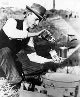 "Charles Mallory Hatfield, born in Fort Scott in 1875, was known as ""The Rainmaker"" and was renowned for techniques that were believed to create deluges during seasons of drought and dry weather. The film ""The Rainmaker"" (1956) starring Burt Lancaster is based on Hatfield's exploits."