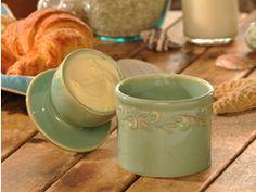 Butterbell | Butter Crock, Tea Steepers, Butter Keeper Antique Butter Holder, Butter Dish, Ceramic