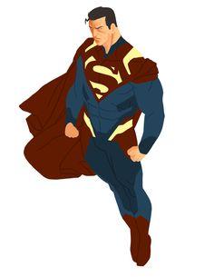Superman redesign. Subtle changes, I like it.