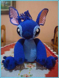Sil Tricô: Amigurumi Stitch & Angel