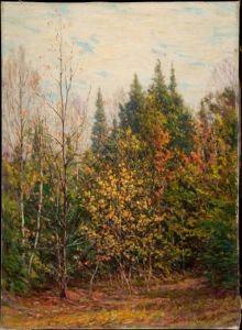 Spires of the Woods - John Ottis Adams - The Athenaeum