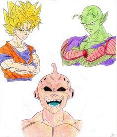 Goku & Junior