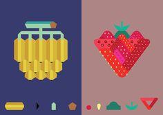 banana & strawberry