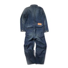 NEIGHBORHOOD WASHED COVERALLS INDIGO | TODAY CLOTHING