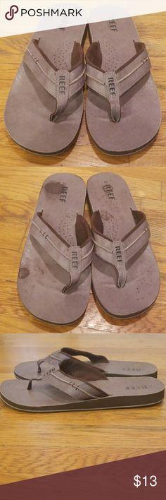 02f2f9daa701 Reef Men s Leather Marbea Thong Sandal Reef Men s Leather Marbea Thong  Sandal Condition