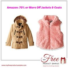Amazon: 70% or More Off Jackets & Coats
