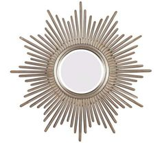 "Sunburst Reflections 38"" High Wall Mirror 