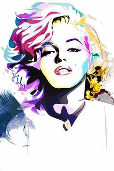 make pop art pictures with photos of class and sharpies.
