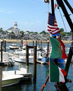 provincetown wharf, provincetown, massachusetts