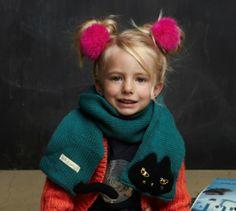 Little Boo-Teek - Milk & Soda | Designer Kids Accessories | Girls Scarf