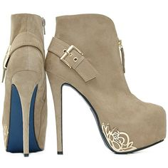 716 best high heel boots   booties images on Pinterest   Bootie ... fdb780e525