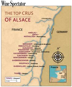 The Top Crus of Alsace