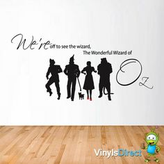 Wizard Of Oz Wall Sticker Group Design Amazing Pictures