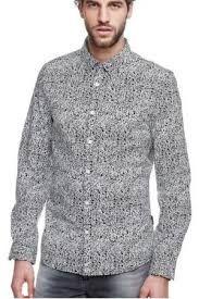 d7f7cbeef6ea1 Camisas estampadas para hombres- Camisas de manga larga