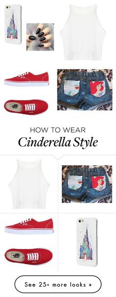 """""""Untitled #1044"""" by ashleydreamer2 on Polyvore featuring Vans and Disney"""