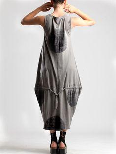 COTTON KNIT DRESS - JACKETS, JUMPSUITS, DRESSES, TROUSERS, SKIRTS, JERSEY, KNITWEAR, ACCESORIES - Woman -
