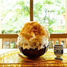 【かき氷】PASS THE BATON KYOTO GION お茶と酒 たすき @京都 : おいしおす@京都