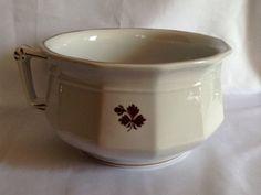 Antique Anthony Shaw Burslem Ironstone Chamber Pot - Rare Find!