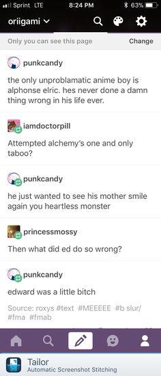 Everyone loves Alphonse