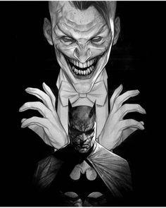Comic Book Artists, Comic Books Art, Comic Art, Dc Comics Art, Anime Comics, Molduras Vintage, Joker And Harley, The Joker, Im Batman