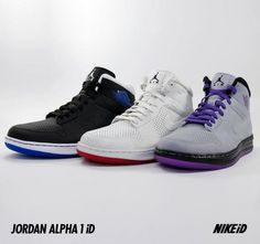 finest selection 1ef80 7ed14 Air Jordan Alpha 1 iD Translucent Sole Option The latest option to hit  NikeiD for the Air Jordan Alpha 1 now allows users added customization  options for ...