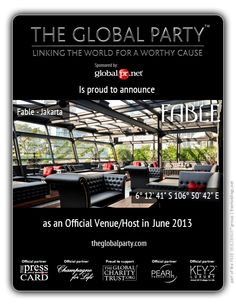 #Fable #Jakarta #IndonesiasFinest http://www.theglobalparty.com/venues/fable-2/