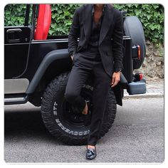 Men with class Black