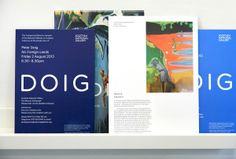 Peter Doig: No Foreign Lands Exhibition on Behance
