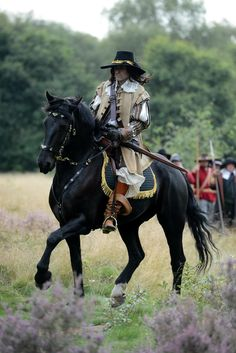 Horseman of Englishcivilwar period