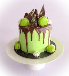 Kathryn Sabbath inspired choc mint birthday cake