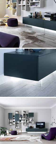 die alternative zur wandmontage ist der transparente tv sockel fur tv lowboards von livitalia