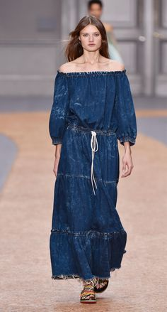 Look 20 from the Chloé Spring-Summer 2016 collection