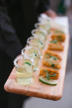 Margaritas and Mini Tacos