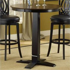Check out the Hillsdale Furniture 4975PTBBLK Dynamic Designs Pub Table with Black Base priced at $293.48 at Homeclick.com.
