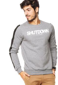 Buzo Gris Fraction Net - Comprá Ahora | Dafiti Argentina Billabong, Cool Outfits, Casual Outfits, Casual Wear For Men, Boys Wear, Tee Shirt Designs, Hoodies, Sweatshirts, Men Sweater
