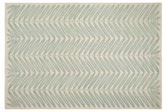 Martha Stewart Chevron Rug, Blue