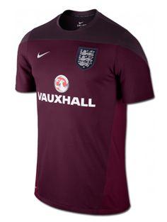 Nueva camiseta de entrenamiento de la selección nacional de  Inglaterra de  la marca  Nike 1fb0505800e